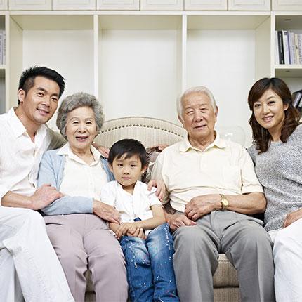 Jason Kim and family  Saddle River, NJ