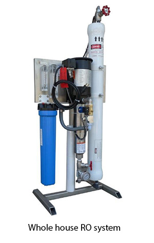 Commercial and whole house Reverse Osmosis systems